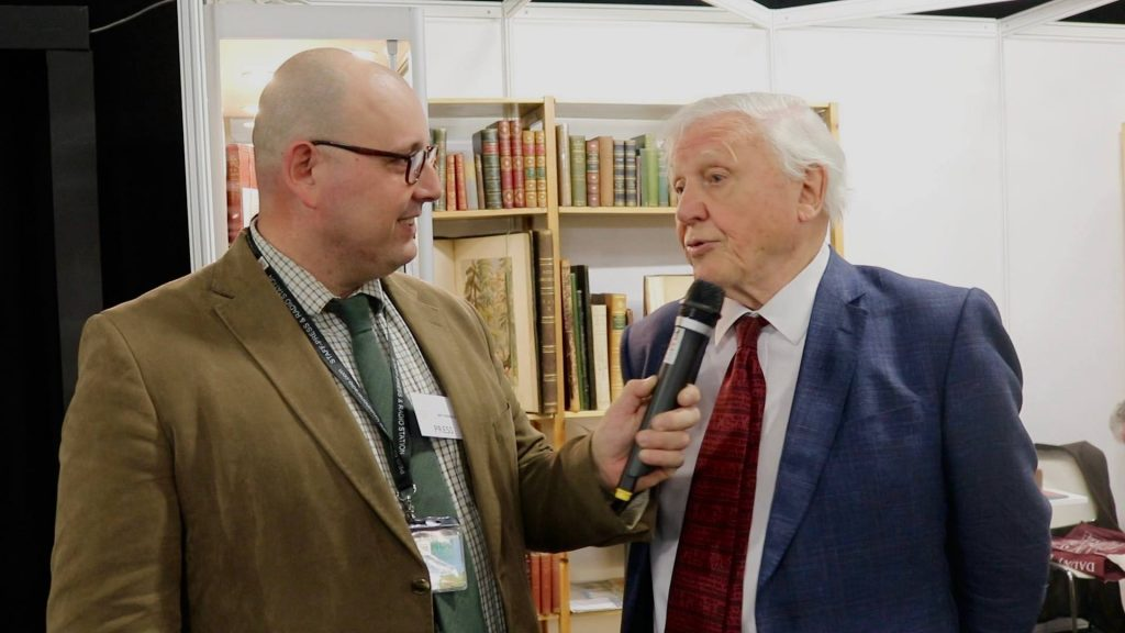 LondonONEradio Sir David Attenborough