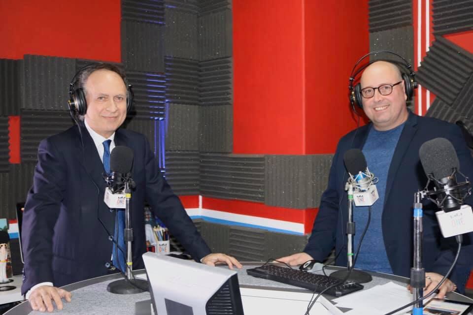 Console Generale Marco Villani a londonONEradio